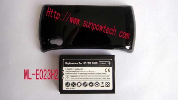 Motorola Milestone 3 XT862 extended battery ML-M067H2 Ml-e023h2